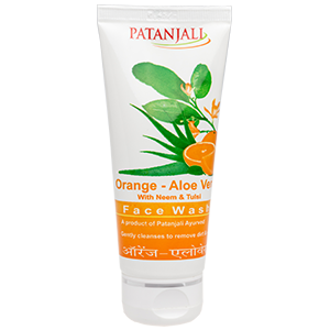 ORANGE ALOEVERA FACE WASH 300-300
