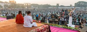 assembly of over 1 lac people making world records at Bhilai